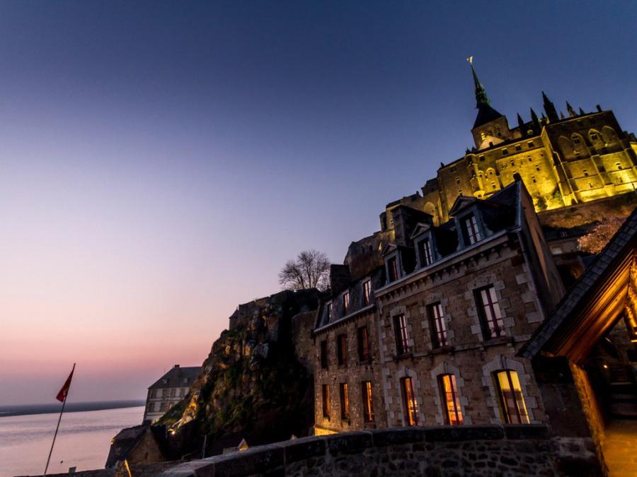 フランスの「モン・サン・ミッシェル」の美しい景色に感動