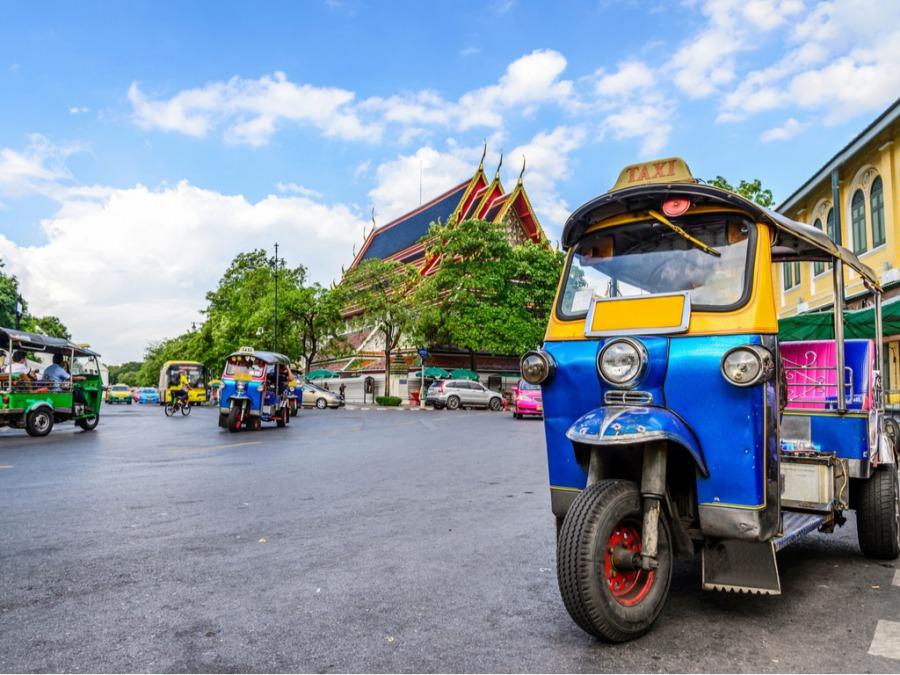 タイへの1人海外旅行にチャレンジ
