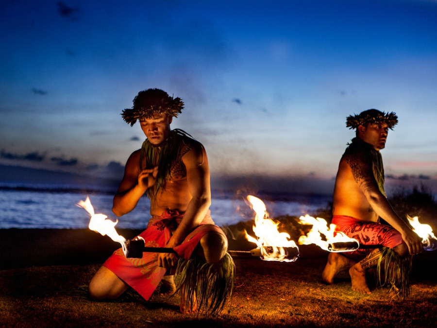 もう一度やってみたいハワイでのファイアーダンス